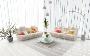 minimalistyczne wnętrza